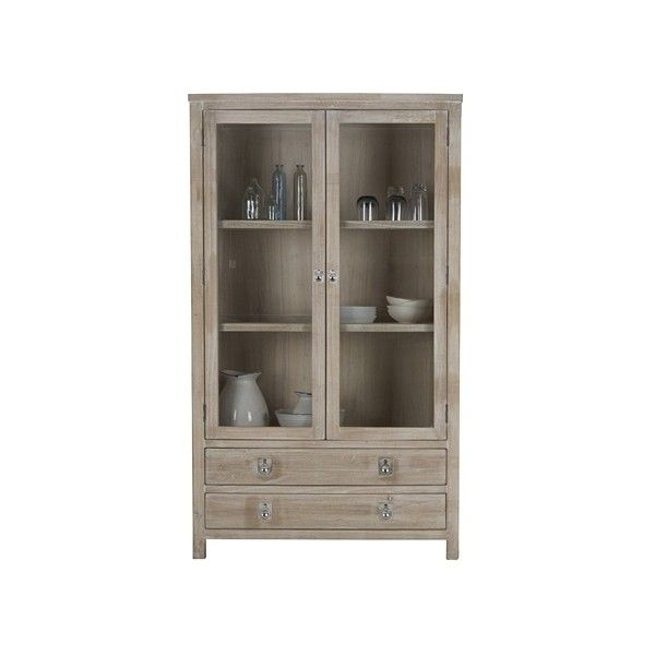 Cancun Display Cabinet ($1,225) ❤ Liked On Polyvore Featuring Home,  Furniture, Storage
