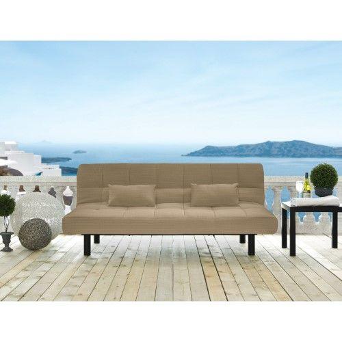 Serta Carmel Outdoor Convertible Sofa Cabana Sand Products