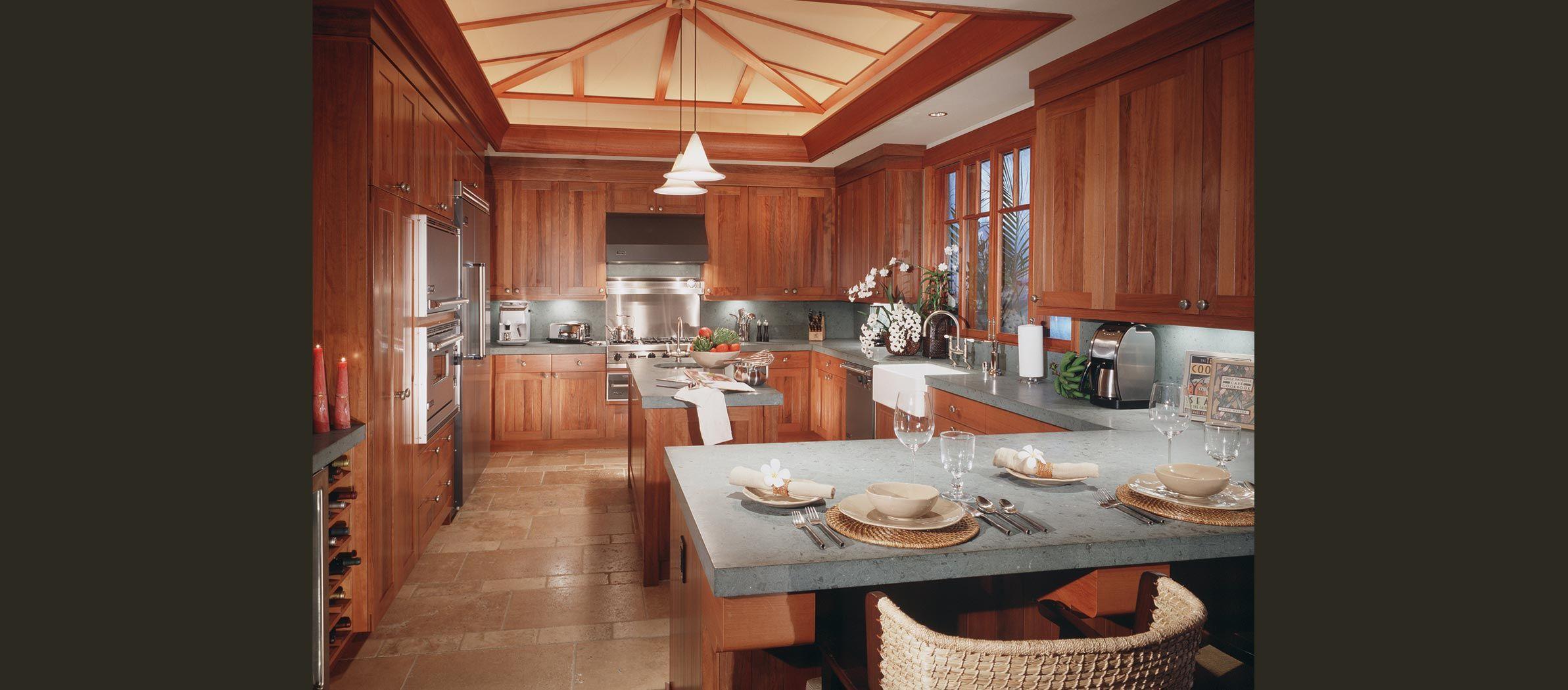Meldman Hale De Reus Architects Tropical Kitchen Design Cheap Kitchen Cabinets Tropical Kitchen