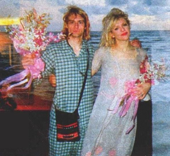 vintage everyday: Rare Photos of Courtney Love and Kurt Cobain on ...