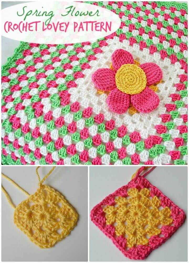 35 Free Crochet Lovey Patterns For Your Cute Baby Crochet Lovey