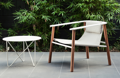 Lovely new outdoor furniture from Jardan Fred table and Roger chair ...