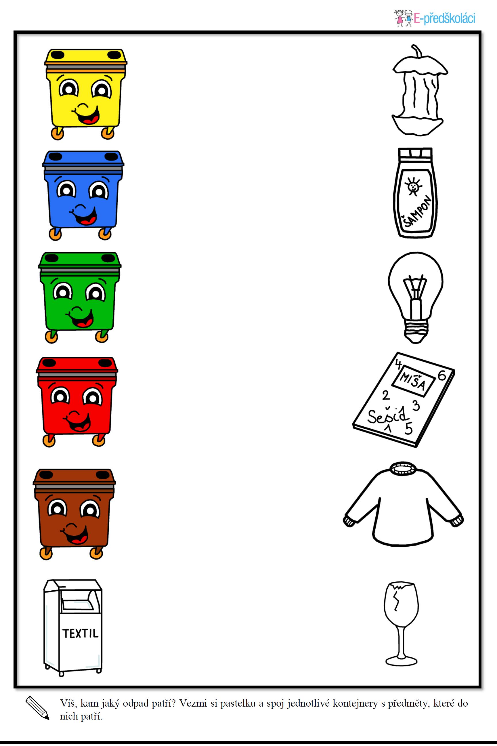 Jak Ferdik A Pepik Ucili Deti Tridit Odpad Jaro Pinterest