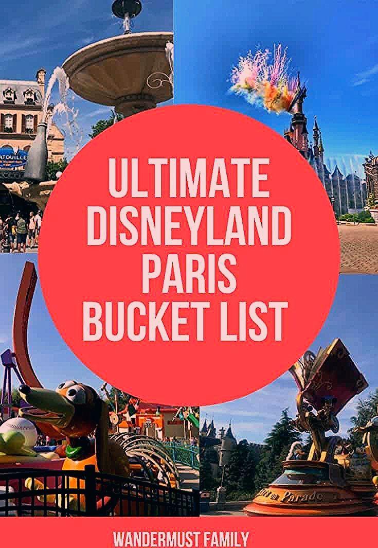 Photo of Best things to do in Disneyland Paris Bucket List – Wandermust Family