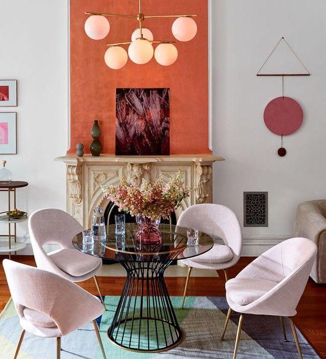 Round out your dining room in modern style with our Orb Upholstered Chair.    استمتع بتناول الطعام على مائدة  Orb Upholstered  المستديرة والعصرية