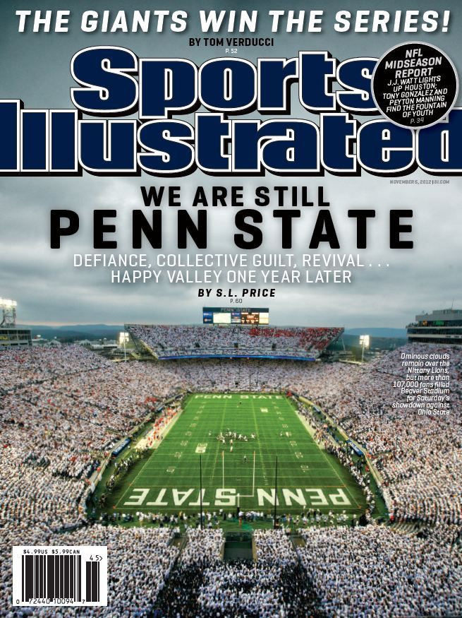 We Are Still #PennState. This week's second regional cover looks at Happy Valley, one year later.