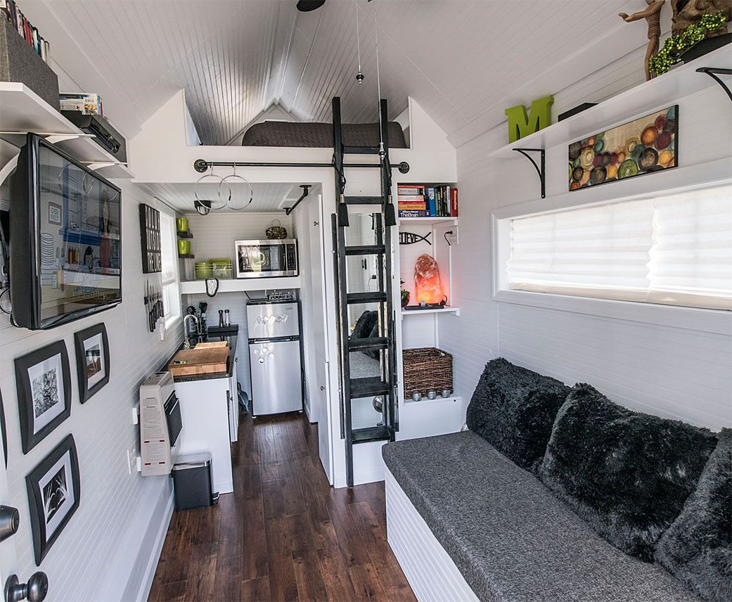 magnifying uses of small spaces tiny houses house and interiors