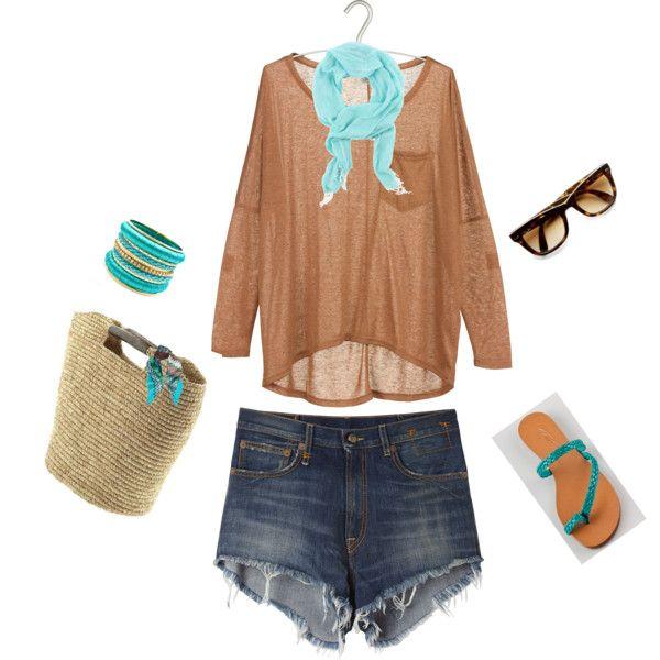 beachy casual