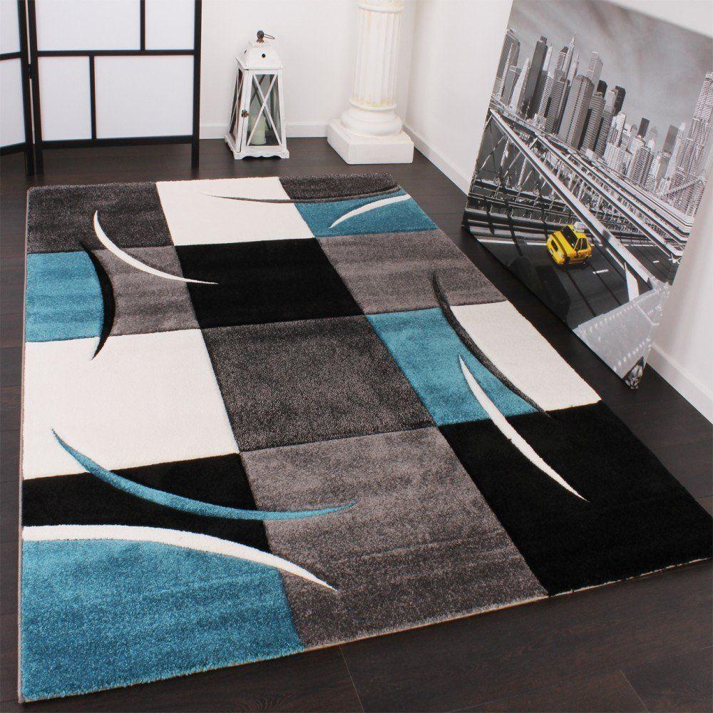 Tapis à Carreaux Turquoise Dimensionx Cm Amazonfr Cuisine - Faience cuisine et tapis pas cher 160x230
