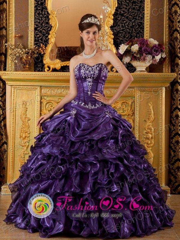 Royal Purple Quince Dresses