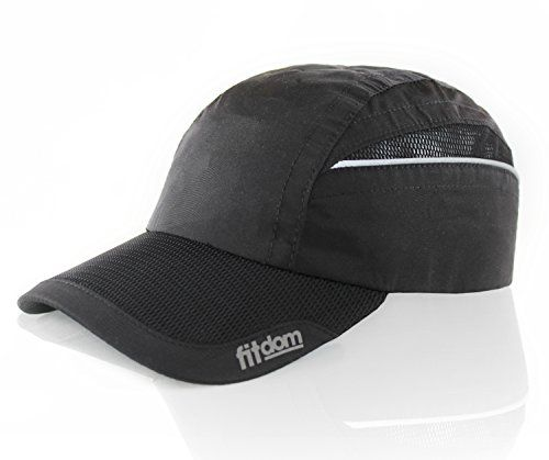 3f2f2ecbc989 One Size Fits All even with a Ponytail. All Season Performance Cap with  Quick Dry Technology for Jogging