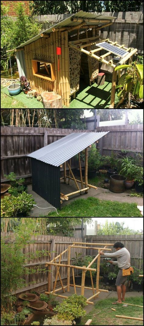 Build Your Own Bamboo Cubby Home Design Bamboo Crafts