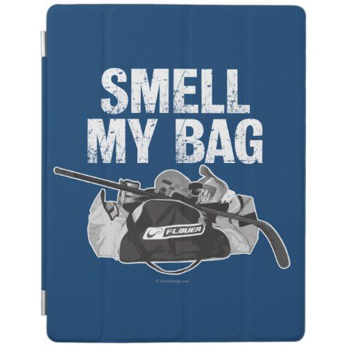 Smell My Bag Hockey Stench Ipad Smart Cover Zazzle Com With Images My Bags Bags Hockey Bag