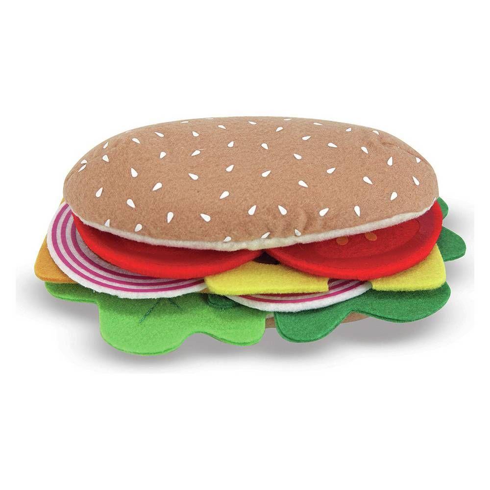 Buy melissa doug felt food sandwich set role play toys