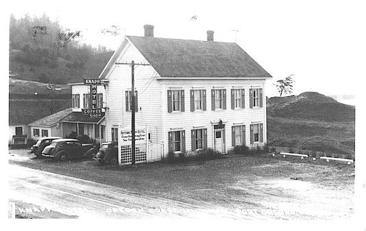 The Kn Hotel Port Orford Oregon Built In 1861 Card Mailed August