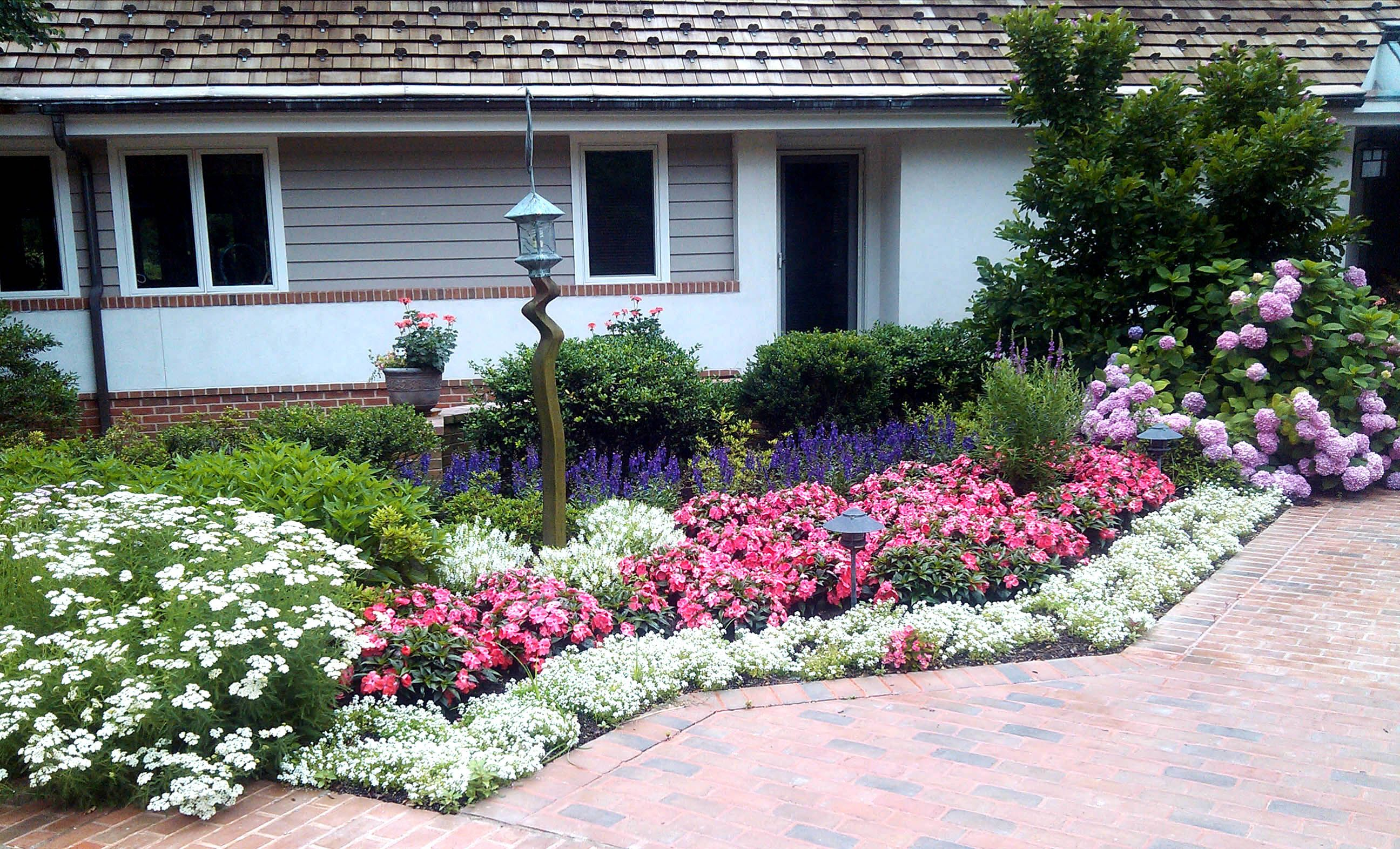 pictures of flower beds landscape contractors of annapolis