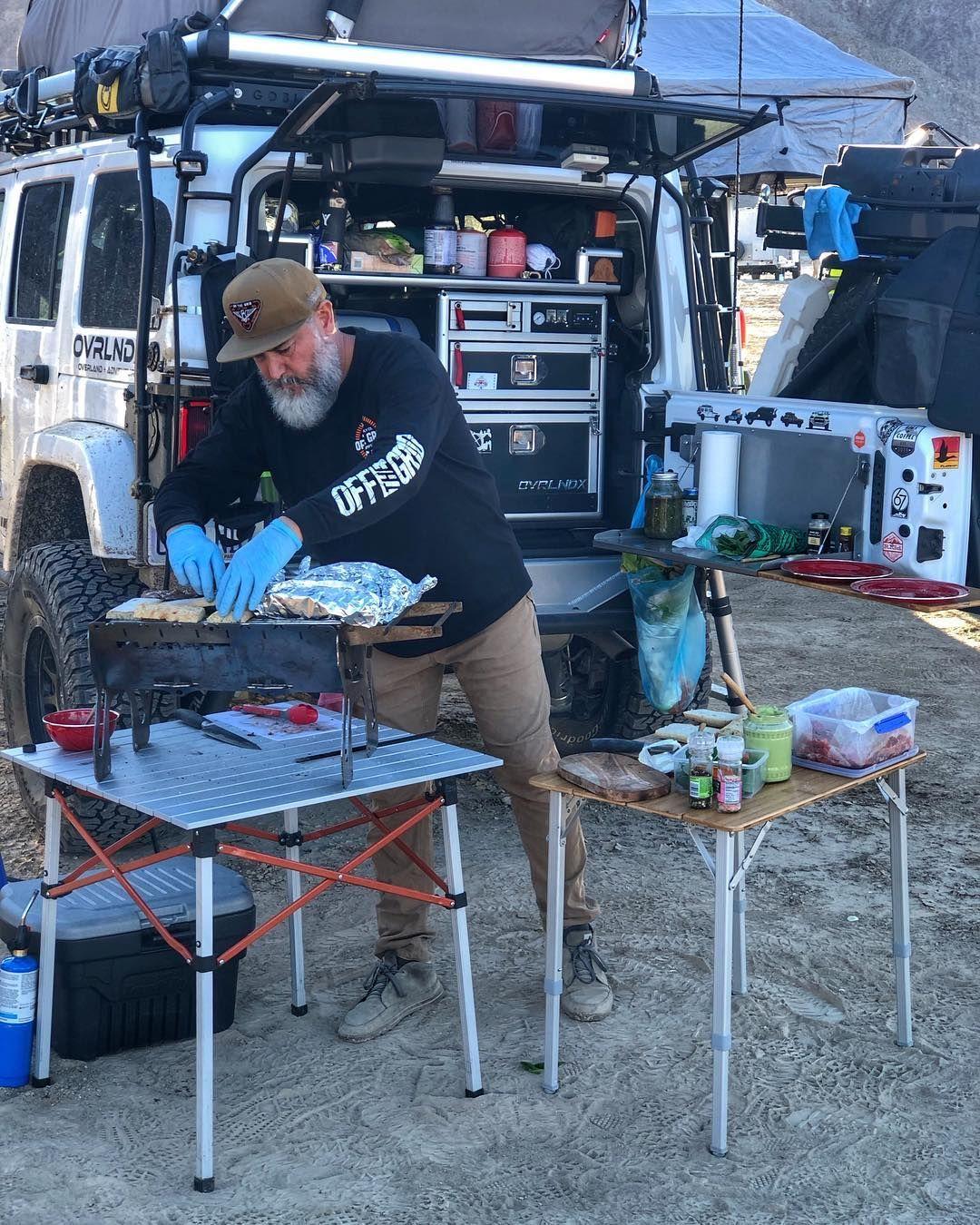 Great little overlanding kitchen set up. Truck bed