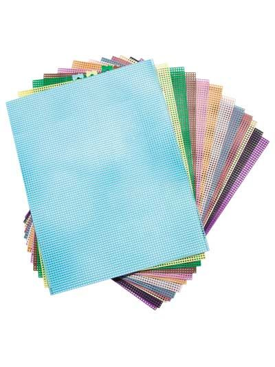 7 Count Colored Plastic Canvas Sheets Plastic Canvas Stitches Plastic Canvas Plastic Canvas Patterns