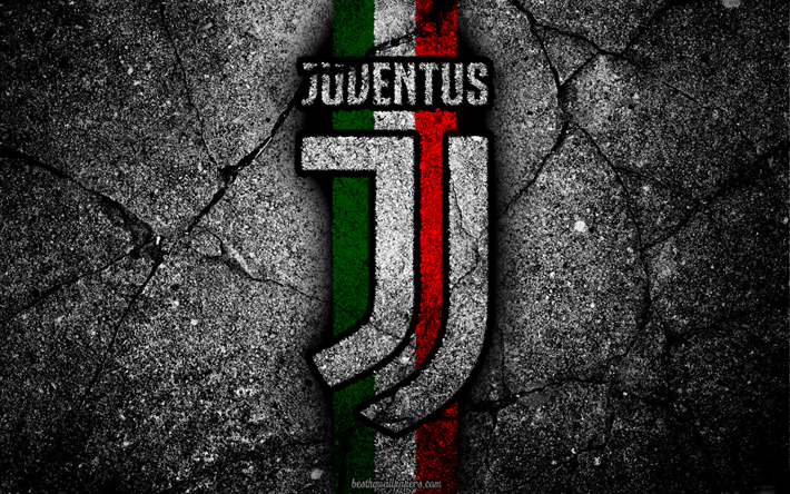 Download Wallpapers Juventus Stone Texture New Logo Serie A Art New Juventus Logo Juve Soccer Besthqwallpapers Com Juventus Wallpapers Ronaldo Juventus Juventus