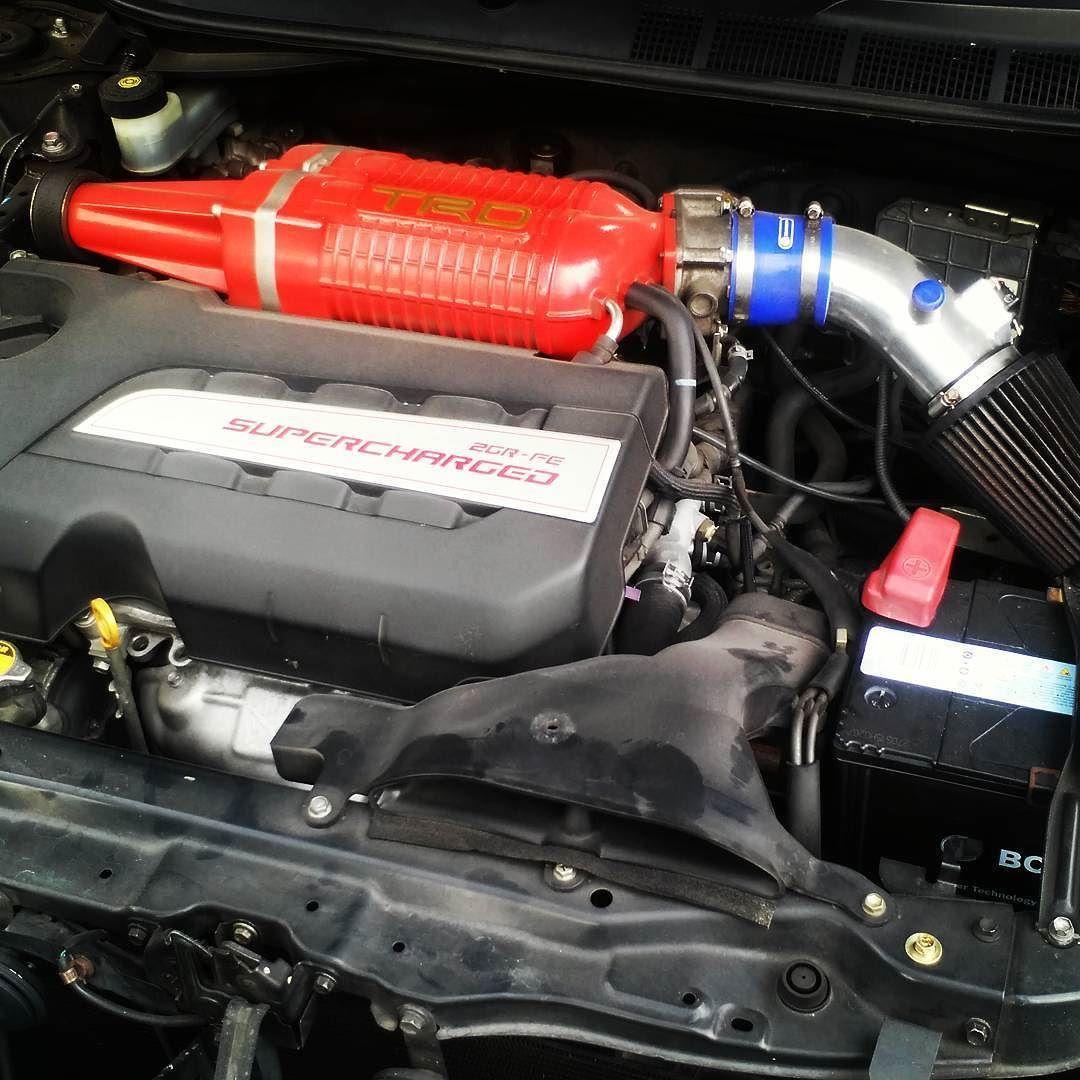 Toyota Aurion TRD 2GR-FE supercharged 3 5L #toyota #trd
