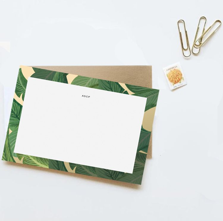 Personalized Stationery | Custom Stationery | Desk Notes | Office Stationery | Monogrammed Stationery | Monogrammed Notes | Monogram