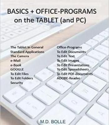 Basics + Office Programs On The Tablet (And Pc) PDF Software - Spreadsheet Software Programs