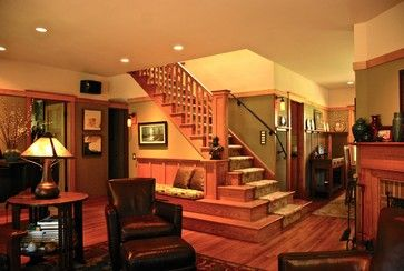 My Own House - craftsman - Staircase - New York - Hoffman Grayson Architects LLP
