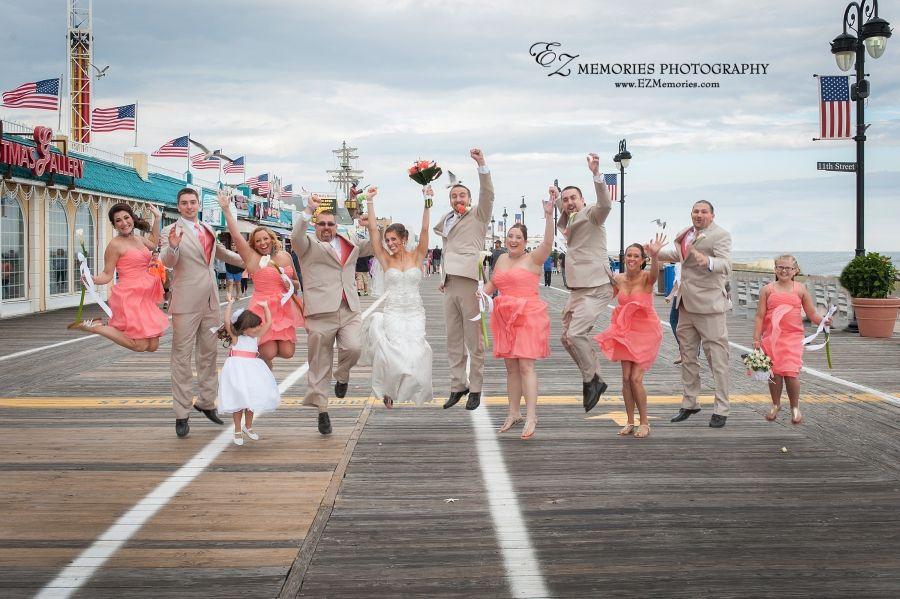 Ocean City Nj Beach Wedding Photographer Ez Memories Photography