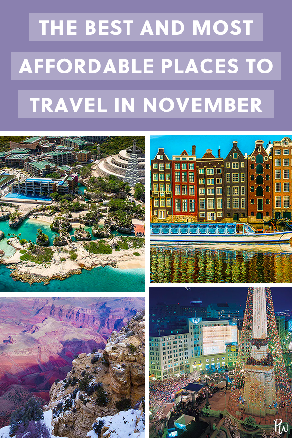 the best and most affordable places to travel in november wander rh pinterest com best places to travel in november with a toddler