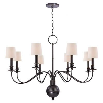 Erby 8 Light Shaded Classic Traditional Chandelier Traditional Chandelier Chandelier Hudson Valley Lighting