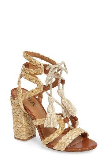 MIA Gigi Ghillie Sandal (Women | Sandals, Lace up sandals, Shoes