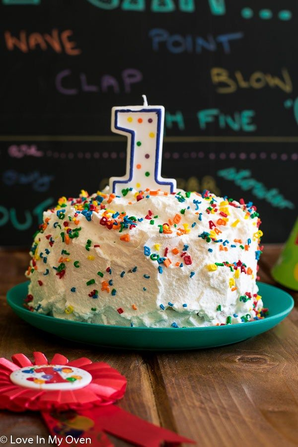 Healthy Smash Cake Recipe Arias First Birthday Pinterest