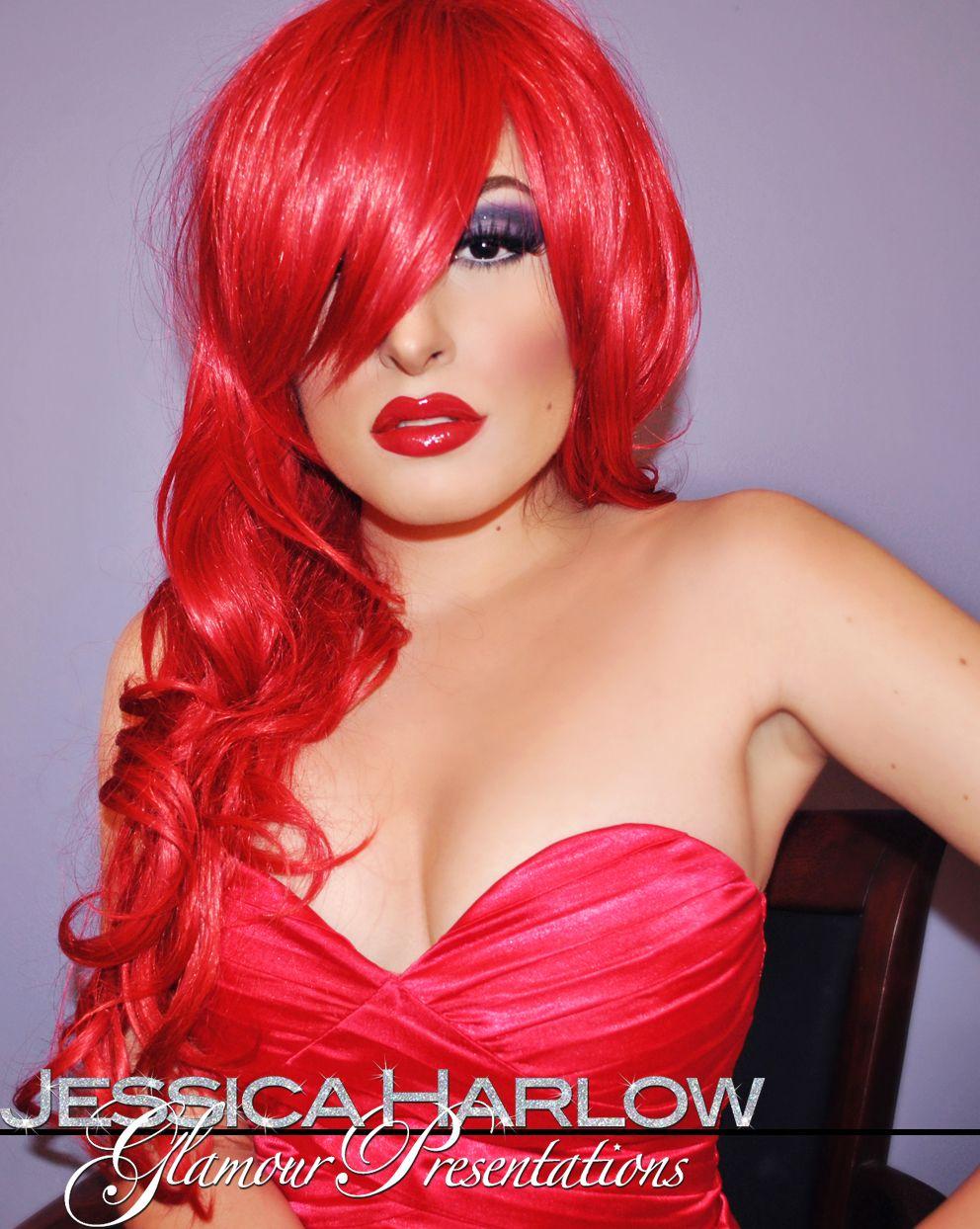 Cartoon Makeup: Jessica Rabbit Comes To Life /cartoon Makeup Tutorial