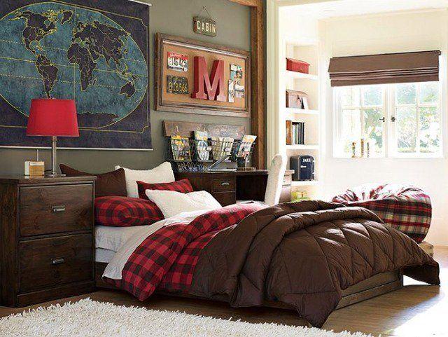 82 idées aménagement chambre ado garçon à l\'américaine   Bedrooms ...