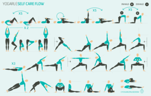 self care flow with images  yoga sequences hatha yoga