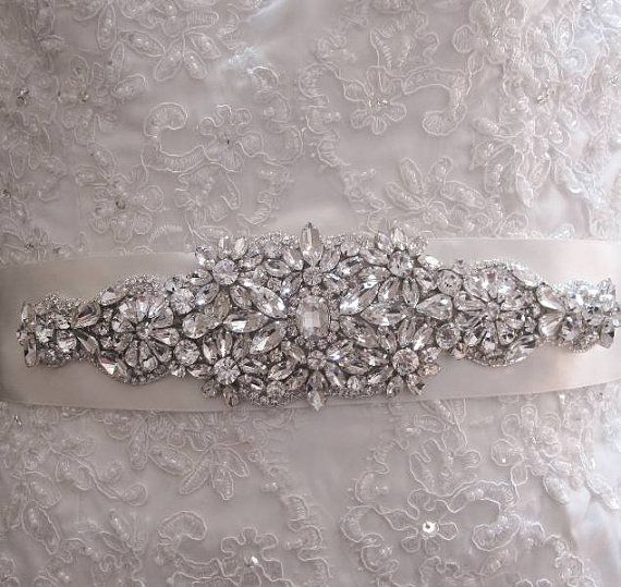 Beaded Sashes for Bridesmaid Dresses