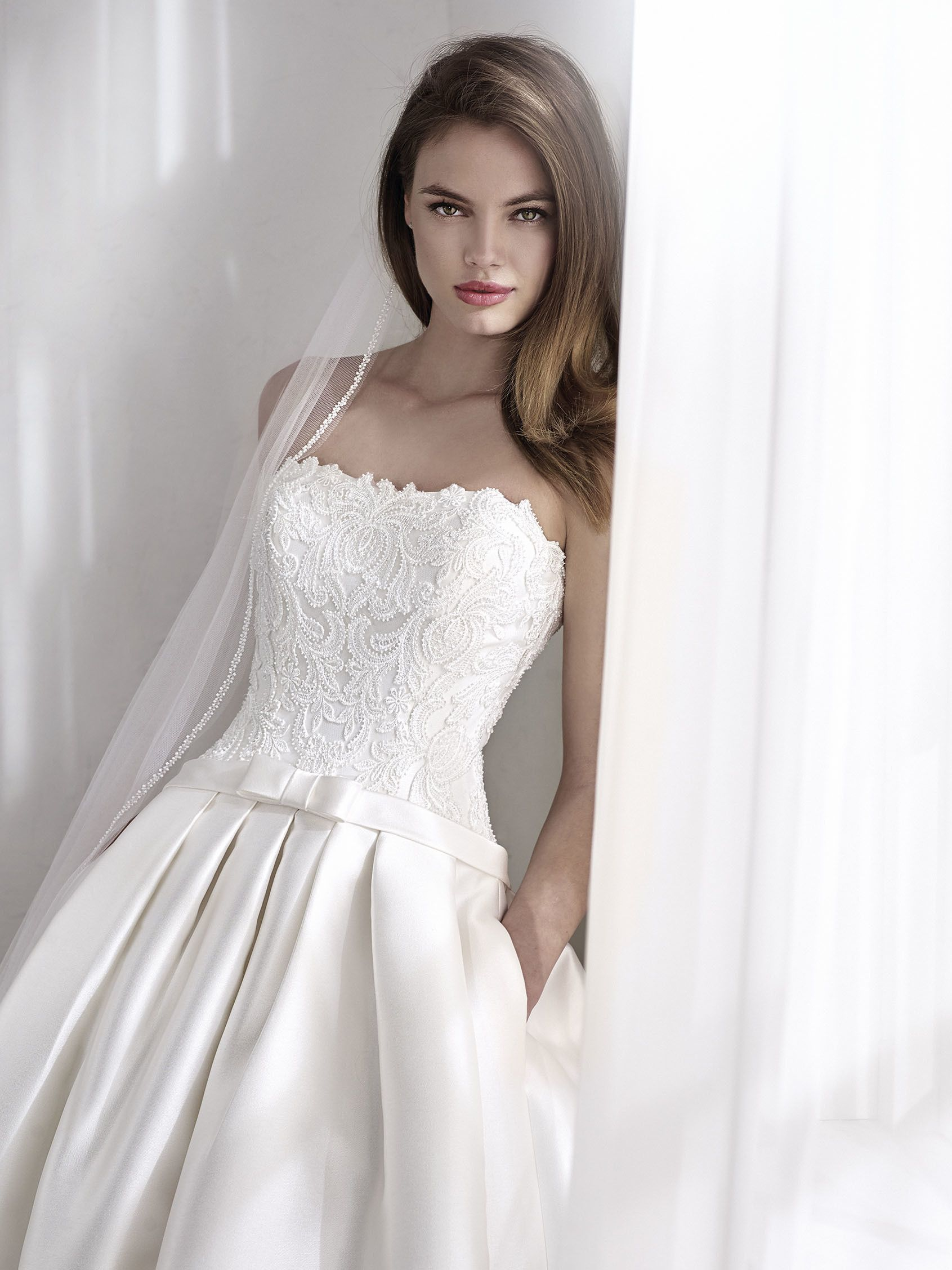 St. Patrick 2018 Bridal Collection LISARA | Wedding Dress | Pinterest