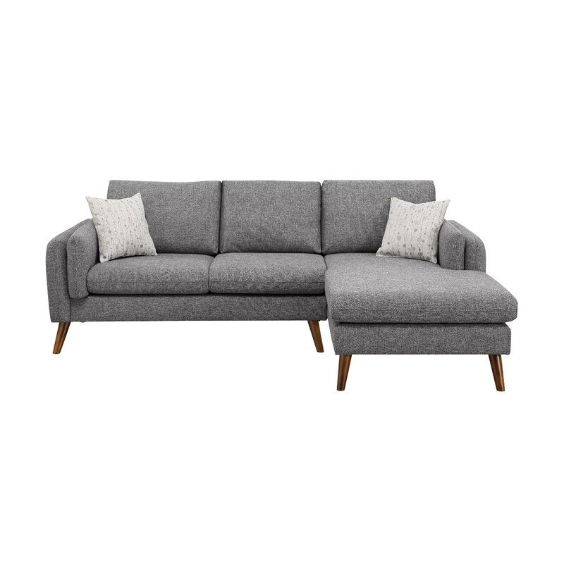 Ahmed 93 Right Facing Sectional In 2020 Mid Century Modern Sectional Sofa Modern Sofa Sectional Sectional Sofa