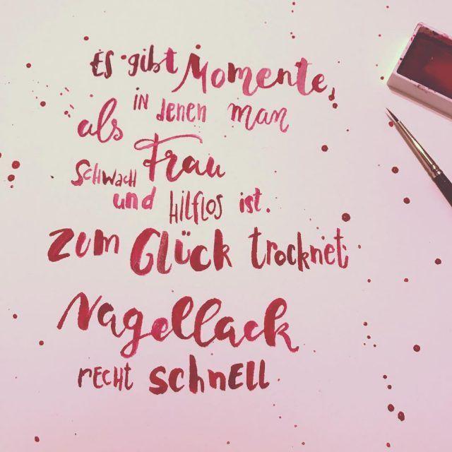 Lettering am Abend habt es gemtlich! handlettering lettering watercolorlettering handwritinghellip