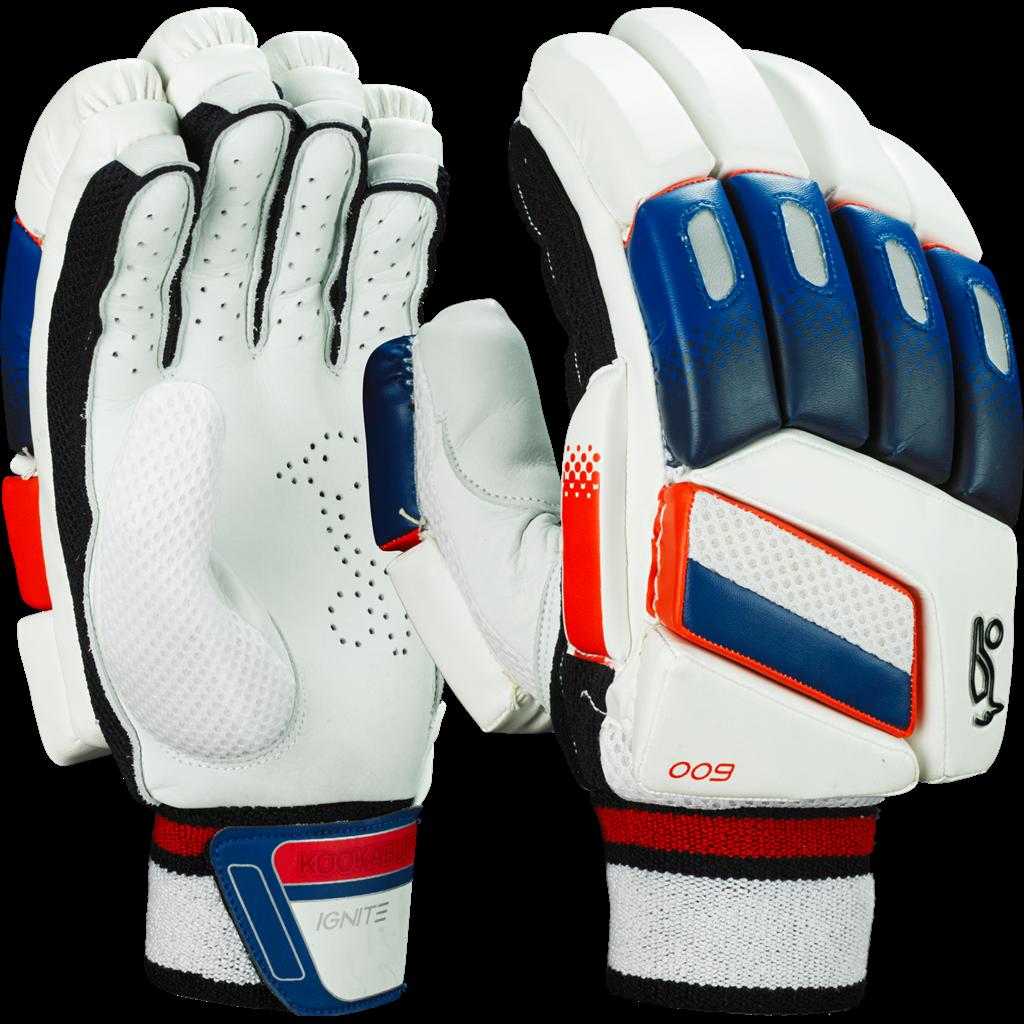 Kookaburra Ignite 600 Batting Gloves Batting Gloves Cricket Gloves Gloves