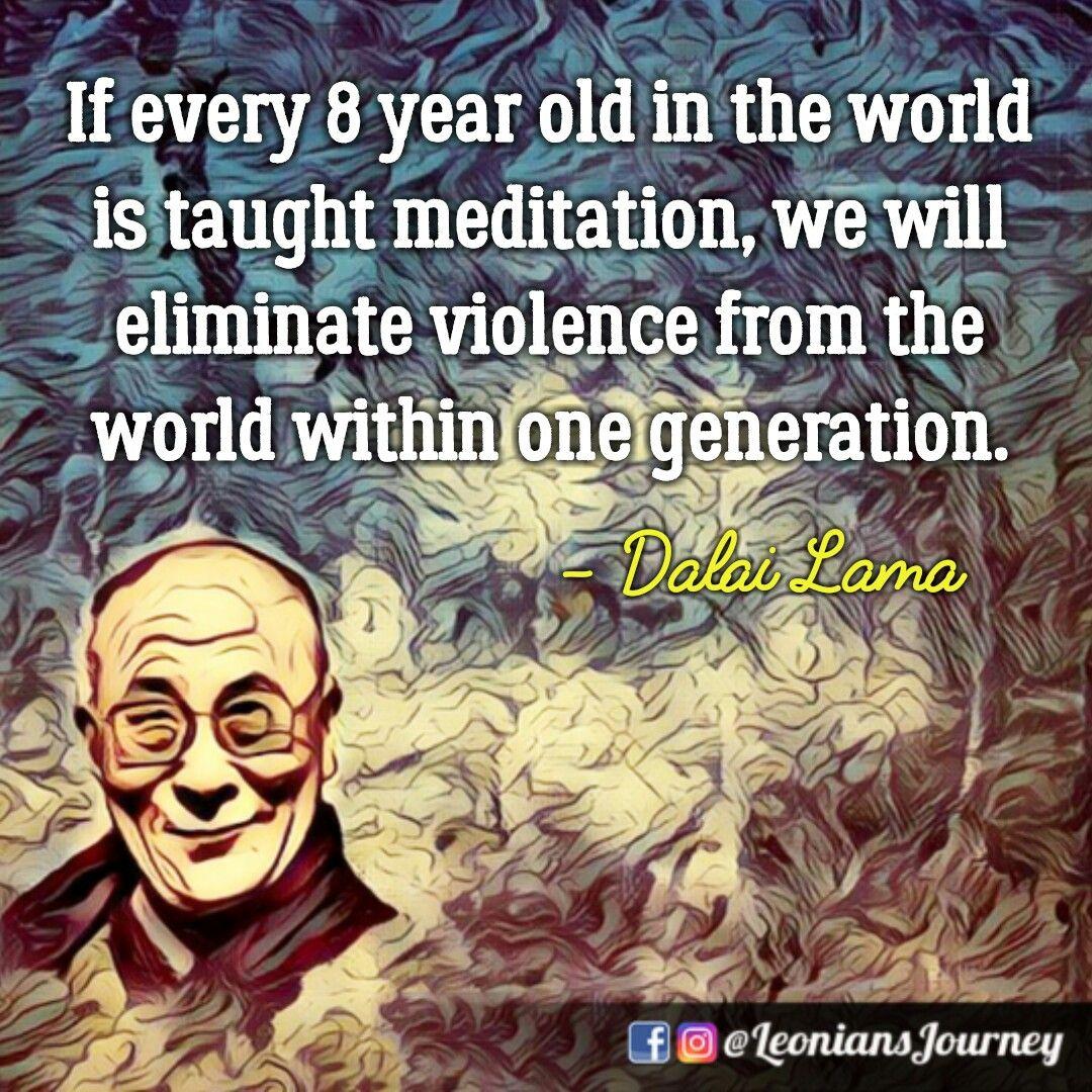 Dalai Lama Quotes Meditation