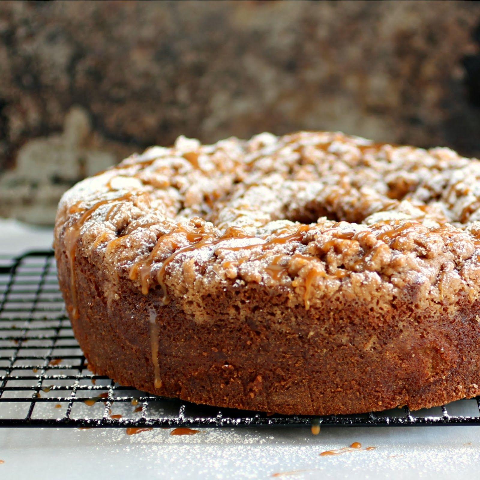 Caramel Apple Sour Cream Coffee Cake Sour Cream Cake Sour Cream Coffee Cake Coffee Cake