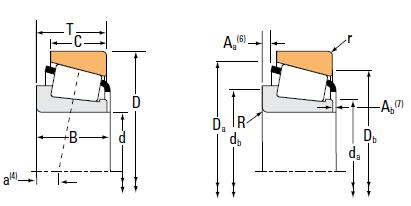 MFG Model#: 2776/2734 Manufacturer: TIMKEN brand Description