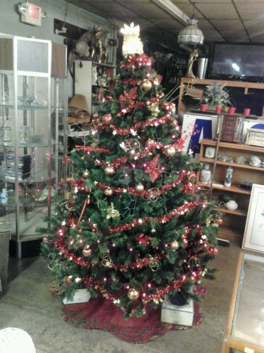 Christmas tree #3 at Auction.