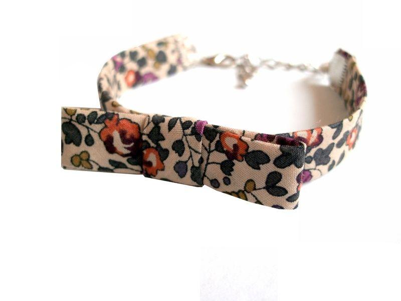 Achat bracelet tissu