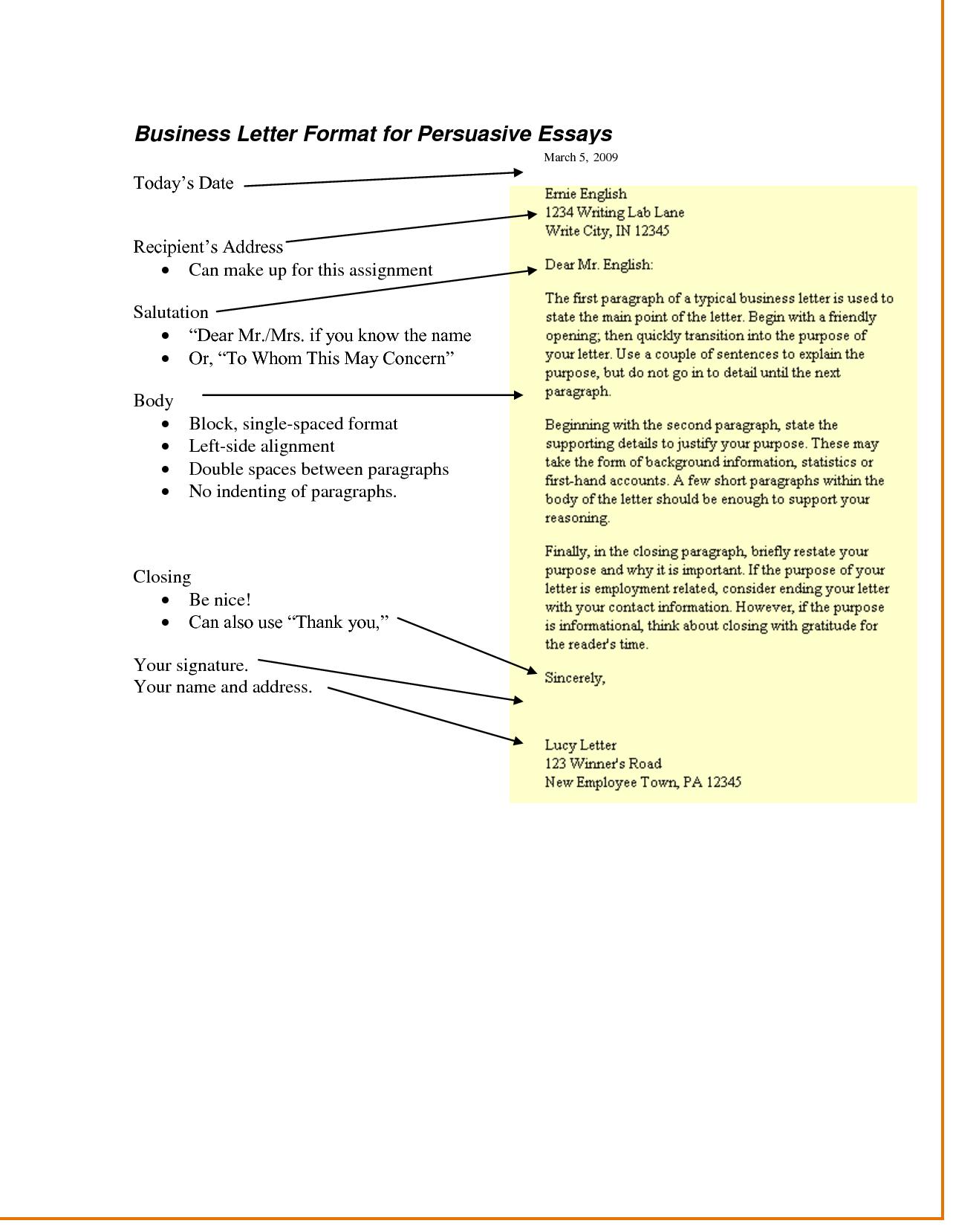 Informative essays conclusion