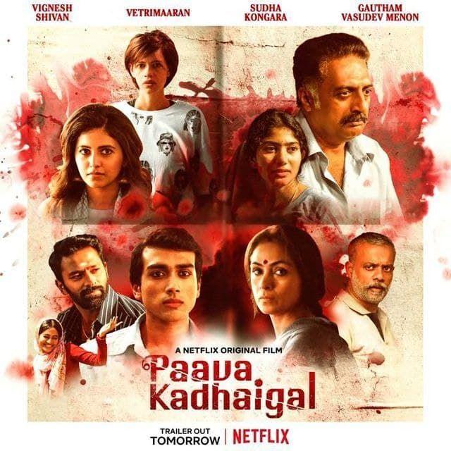 Paava Kadhaigal 2020 Dance Movies Film Story Anthology