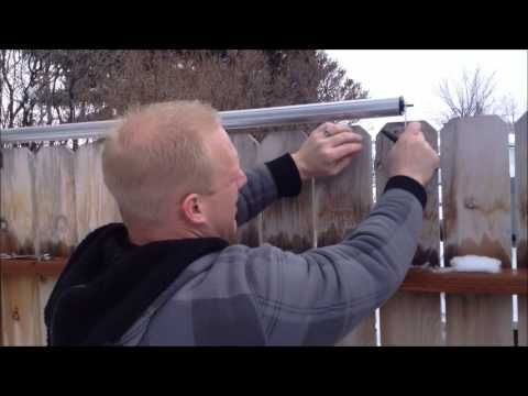 Roll Bar Fence DIY  Keep Your Pets In  Others Out  YouTube When mulling over lawn fencing ideas you should consider a straightforward question So why can you experience i...