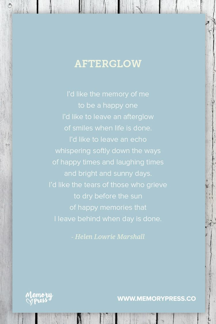 Afterglow - Helen Lowrie Marshall  A collection of non