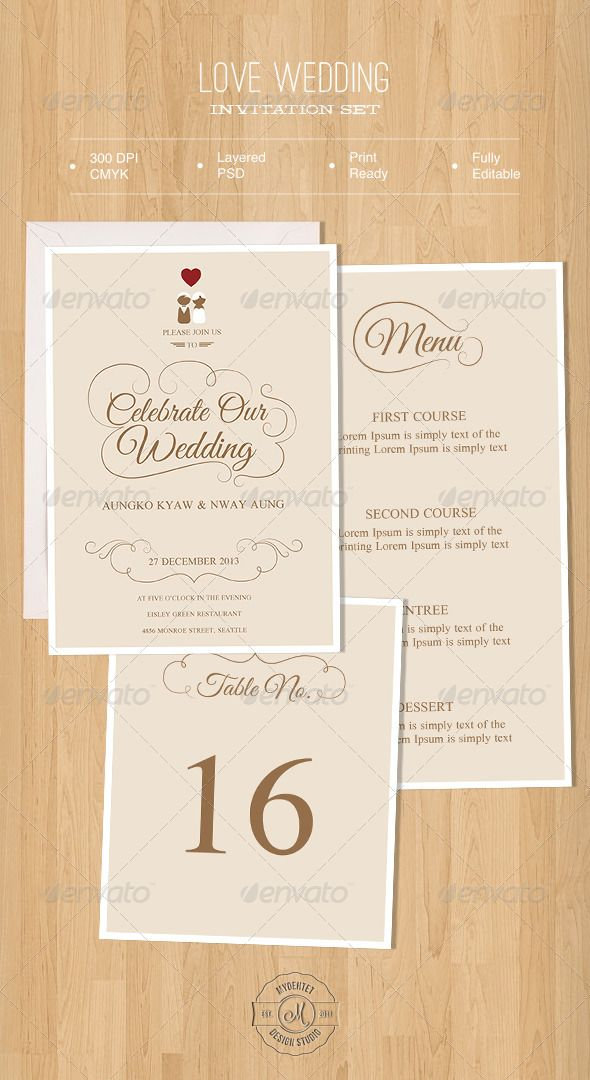 Love Wedding Invitation Set Invitation Card Pinterest Wedding - fresh invitation card to chief guest